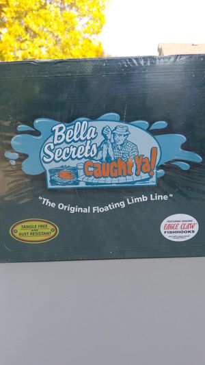 Bella Secrets-Caught Ya! Floating limb line. (Fishing) for Sale in Wichita, KS