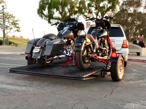 Motorcycle trailer Atv trailer utility trailer for Sale in Los Angeles, CA