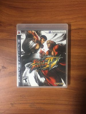 Street Fighter 4 - Ps3 for Sale in Moreno Valley, CA