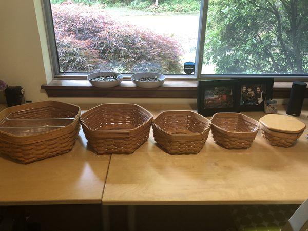 Longaberger Generation baskets