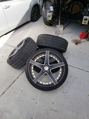 Rims 20 tires Delinte for Sale in Tampa, FL