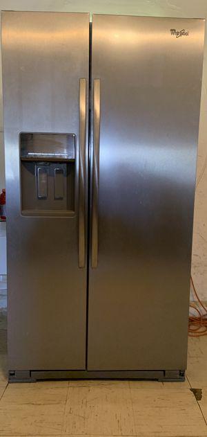 Whirlpool Side-by-Side Refrigerator (READ DESCRIPTION) for Sale in El Paso, TX