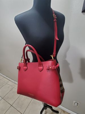 Authentic Burberry Medium Banner Leather Bag for Sale in The Bronx, NY
