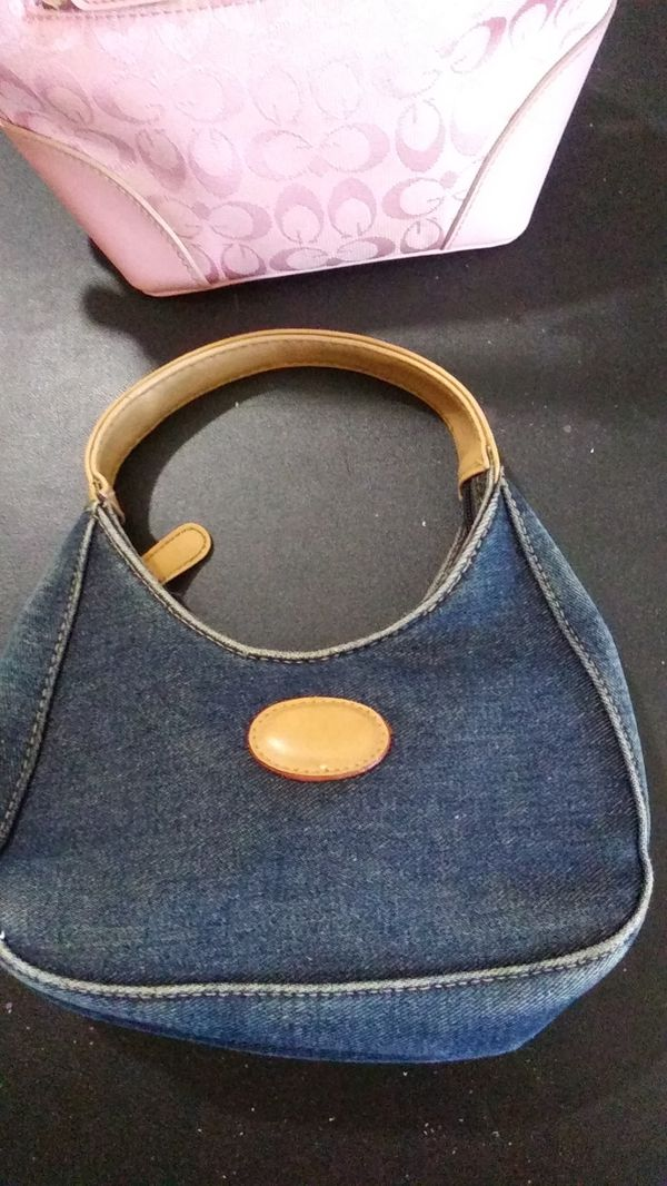 FREE small denim handbag purse