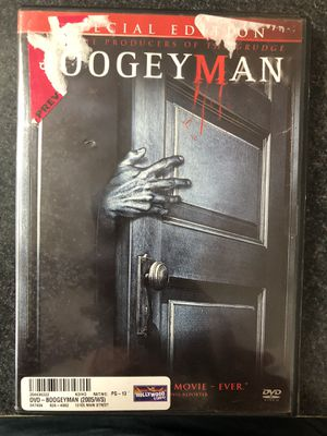 Bogeyman DVD - used - Special Edition for Sale in Preston, CT