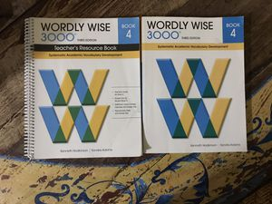 Wordly Wise 3000 Book 4 (3rd ed) for Sale in Miami, FL