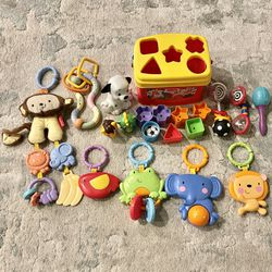 Assorted Baby Toys - 20 pcs for Sale in Milpitas,  CA