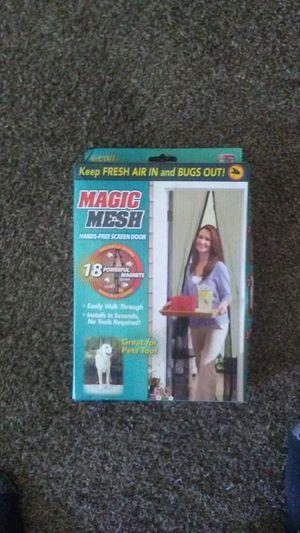 MAGIC MESH SCREEN MAGNET DOOR for Sale in Fresno, CA