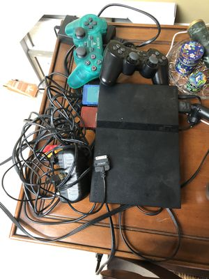 Ps2 I have two controllers and all the wires needed to Hook it up for Sale in Manassas, VA