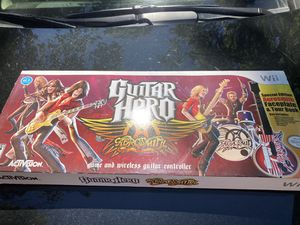 Wii Guitar Hero for Sale in NJ, US