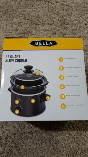 Bella Slow Cooker 1.5 quart for Sale in Herndon, VA