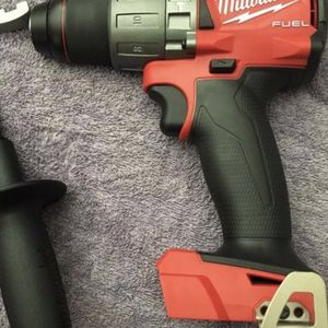 Milwaukee M18 FUEL 18-Volt Lithium-Ion Brushless Cordless 1/2 in. Hammer Drill / Driver (Tool-Only) NO BATTERY NO CHARGER for Sale in Los Angeles, CA