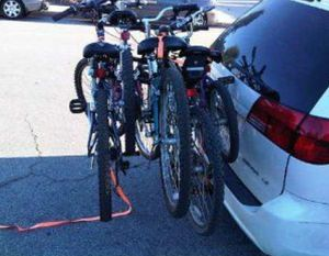 Four Bike Hitch Mounted Car Rack for Sale in Fairfax, VA
