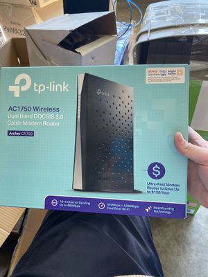 Dual band cable modem router for Sale in La Vergne, TN