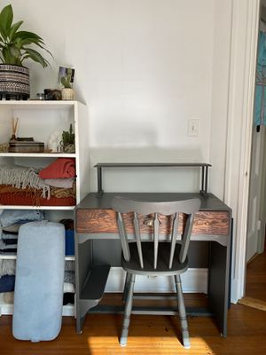 Wooden Desk + Chair for Sale in Cambridge, MA