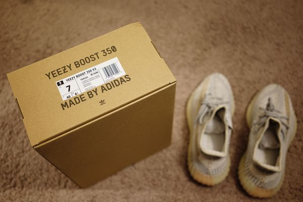 Brand New Adidas Yeezy Boost 350 V2 Lundmark (Non Reflective) Men's Size 7/Women's Sz 8