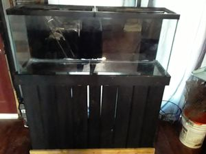 55 gallon aquarium with pump n other for Sale in Nashville, TN