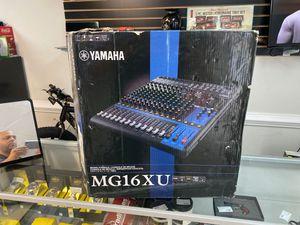 Yamaha MG16XU mixing console for Sale in Virginia Beach, VA