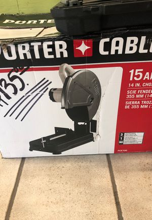 Porter cable chop saw for Sale in Pembroke Pines, FL