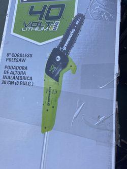 Greenworks Cordless PoleSaw for Sale in North Las Vegas,  NV