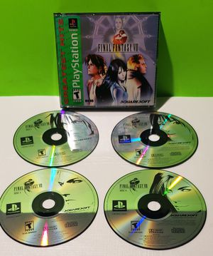 Playstation 1 PS1 PSX Final Fantasy VIII for Sale in Denver, PA