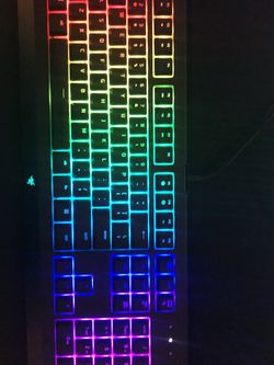 Razer Cynosa Chroma Keyboard for Sale in Santa Clarita,  CA