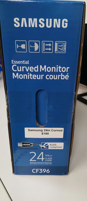 Samsung curved monitor price is firm for Sale in San Diego, CA