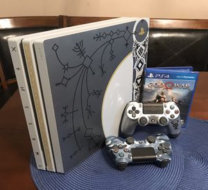 1tb God of War PS4 Pro Console Bundle for Sale in San Antonio, TX