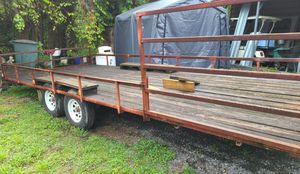 20×8 homemade trailer for Sale in Vero Beach, FL