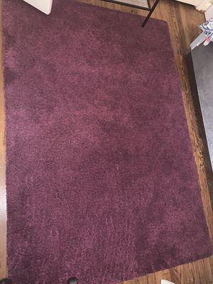 Purple area rug great condition 8'10 for Sale in Atlanta, GA