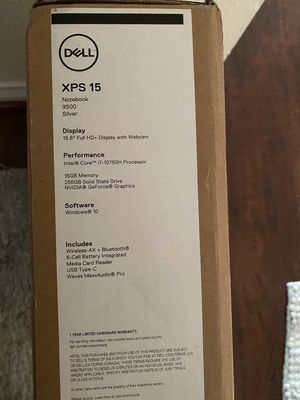 Dell XPS 15 9500 for Sale in Alhambra, CA