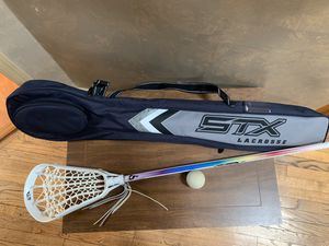 Lacrosse Stick with Bag and Ball for Sale in East Brunswick, NJ