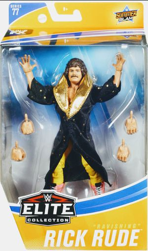New WWE Elite Collection Rick Rude Action Figure. for Sale in Apopka, FL