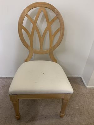 4 solid wood Chairs for Sale in Rockville, MD