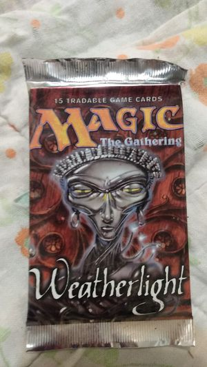 Magic the gathering weatherlight for Sale in Bakersfield, CA