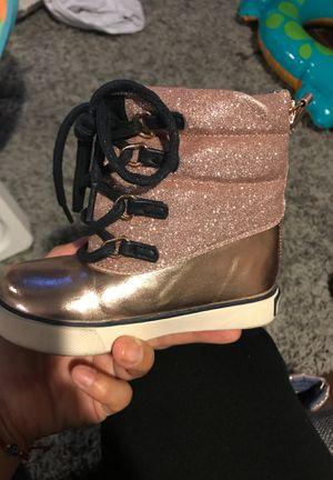 Tommy Hilfiger toddler girls boots- size 7 for Sale in Hemet, CA