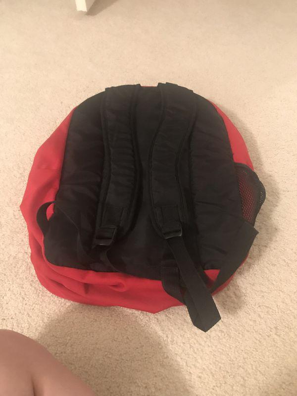Red Jansport Backpack