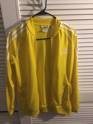 Yellow adidas sweater for Sale in Hyattsville, MD