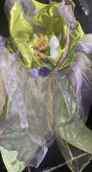 Tinker bell costume can fit up to 4 t for Sale in Tacoma, WA
