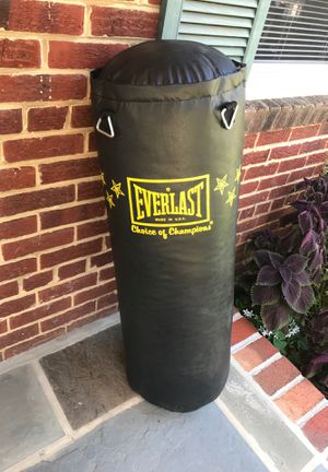 Everlast Punching bag for Sale in Silver Spring, MD