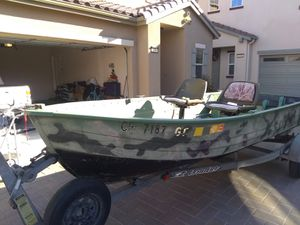 1980 Mirrocraft 14 foot Aluminum boat with EZ Loader trailer for Sale in Hollister, CA