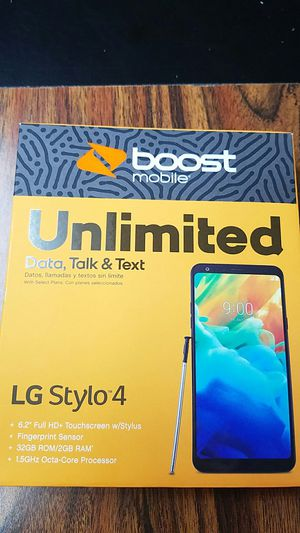 LG STYLO 4 BOOST MOBILE for Sale in Columbus, OH
