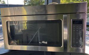 Whirlpool Stainless Steel Microwave for Sale in Houston, TX