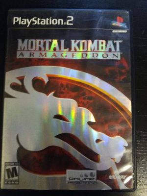 Mortal Kombat play station 2 for Sale in South Gate, CA