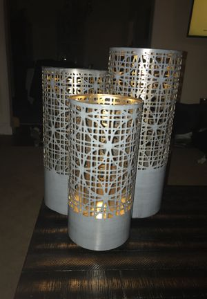 Beautiful decorative candle holders for Sale in Oradell, NJ