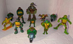 Teenage Mutant Ninja Turtles Toy Lot TMNT for Sale in Beaverton, OR