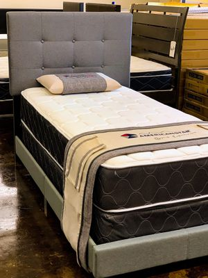 Twin Florence Bed and Mattress Set for Sale in Mesquite, TX