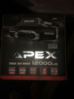 Badlands Apex 12000 lb winch (new in box) for Sale in Sacramento, CA