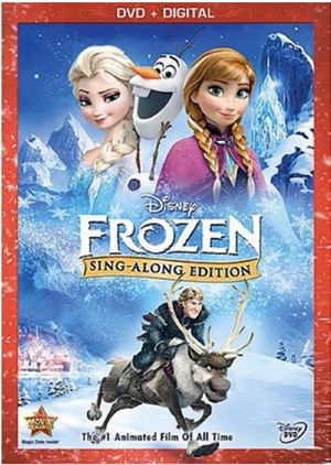 Frozen - Sing Along Edition - Digital Copy Code - MoviesAnywhere HD Movie for Sale in Corona, CA
