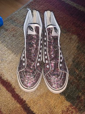 custom sparkle van shoes for Sale in Rowland Heights, CA